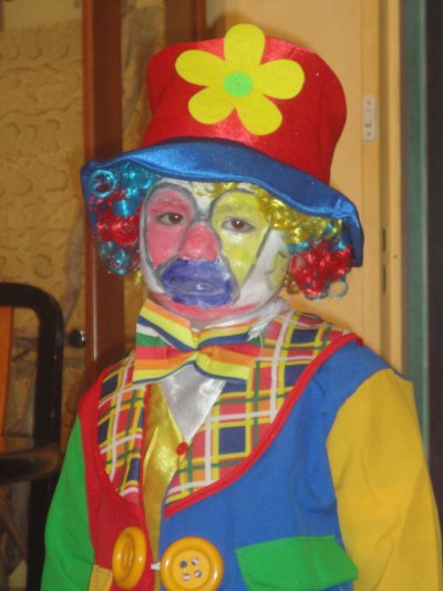 carnaval petit thomas mon clown triste