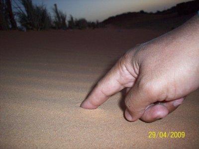 Ecris tes joies dans la roche et tes peines dans le sable