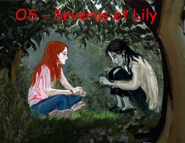 OS - Quand Severus Rogue avoue son amour à Lily Evans