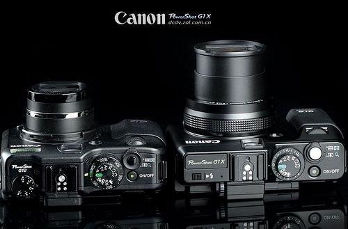 Principaux G1X canon de performance