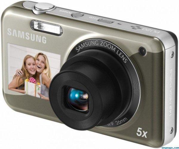 Small samsung PL120 fashion dual digital camera