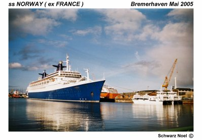 Rencontre passionnés paquebot : FRANCE - NORWAY !!!