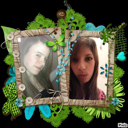moi et ma soeurette de coeur