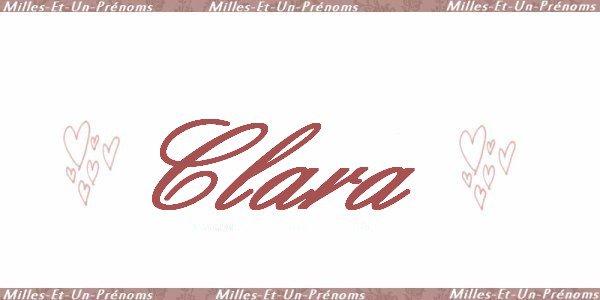 ☆ Clara ☆