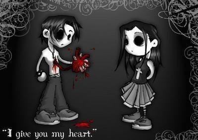 I give you my heart...