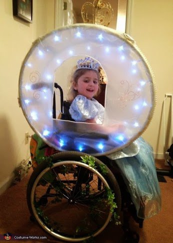 CINDERLLA AND HER ENCHANTED CARRIAGE