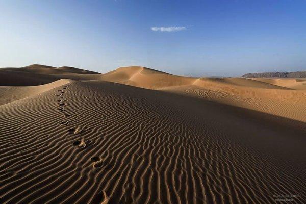 C'est le désert de notre pays