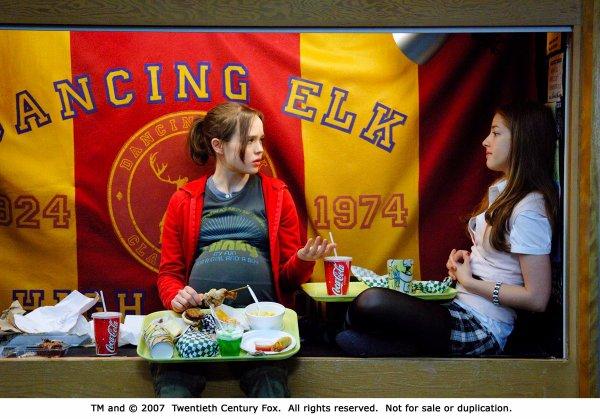Juno                 Ellen Page        Jennifer Garner                <3