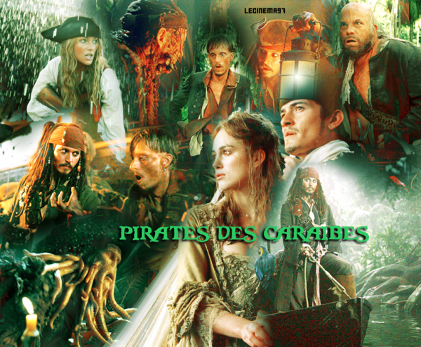 ♥Pirates des Caraibes et le secret du coffre maudit ♥