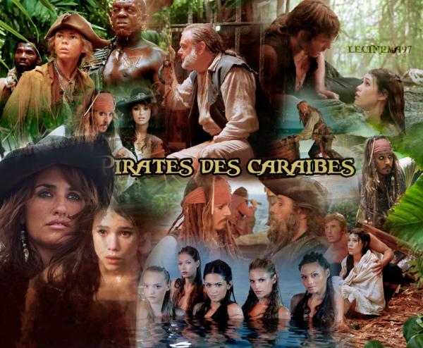 Pirates des caraibes et la fontaine de jouvence