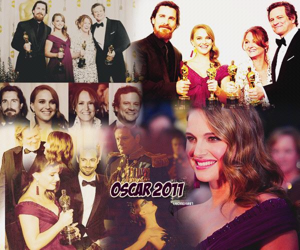 L'article a dû retard ; faute de temps ... Mais voici les résultats et mes pensées des Oscars 2011 et du Festival de Cannes ... Cinéma, récompenses, paillettes, Tapis rouges ...