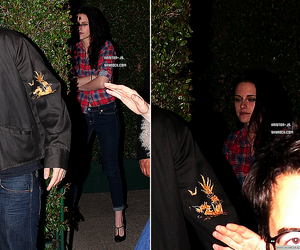 . 24/02/12 : Kristen et Rob' aperçues sortant de la fête « William Morris Endeavor », à Los Angeles .  .