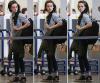 . 28/02/12 : Kristen se rendant à l'aéroport de LAX ( Los Angeles ) pour se rendre à Paris afin d'assister à un  . . . . .défilé de la marque Balenciaga ( dont elle est l'une des égéries ) pendant la Fashion Week.  .