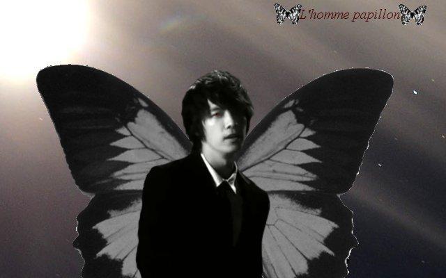 L'homme papillon : l'histoire en montages
