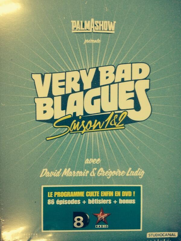 """BONNE NOUVELLE : SORTIE DU DVD DE """"VERY BAD BLAGUES"""" LE 12 NOVEMBRE !"""