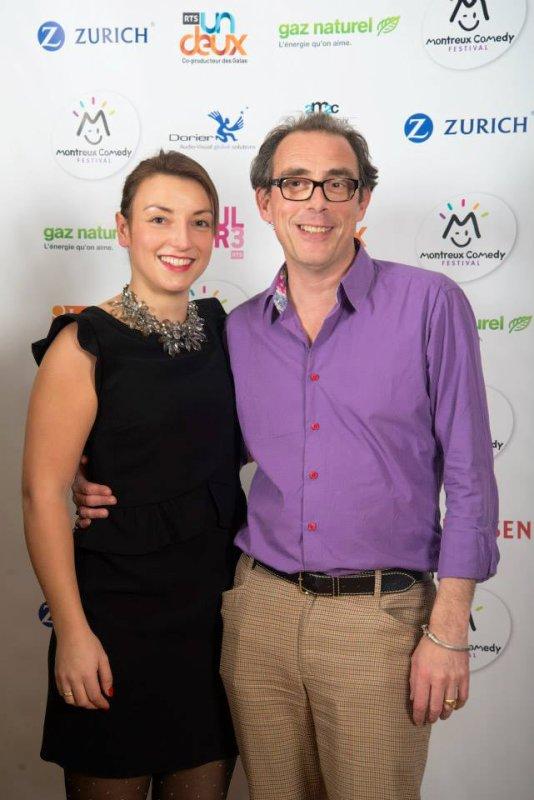 Aude Gogny-Goubert au Montreux Comedy Festival