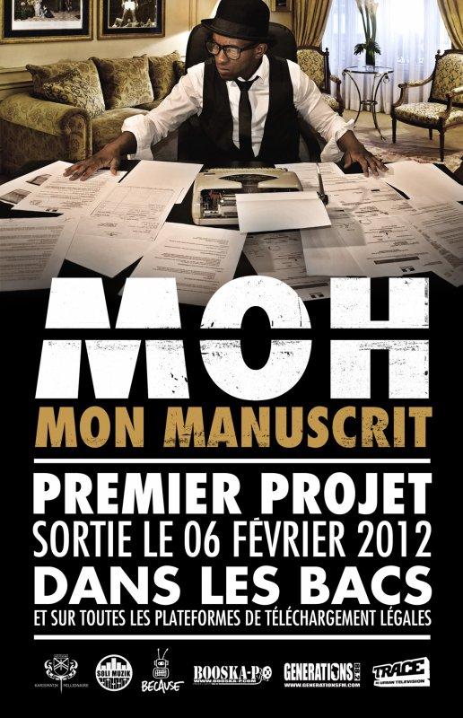 """MOH """"MON MANUSCRIT"""" DANS LES BACS LE 6 FÉVRIER 2012"""