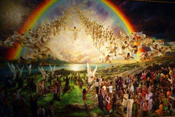 A089 Des Chrétiens joyeux dans ces temps difficiles.  2