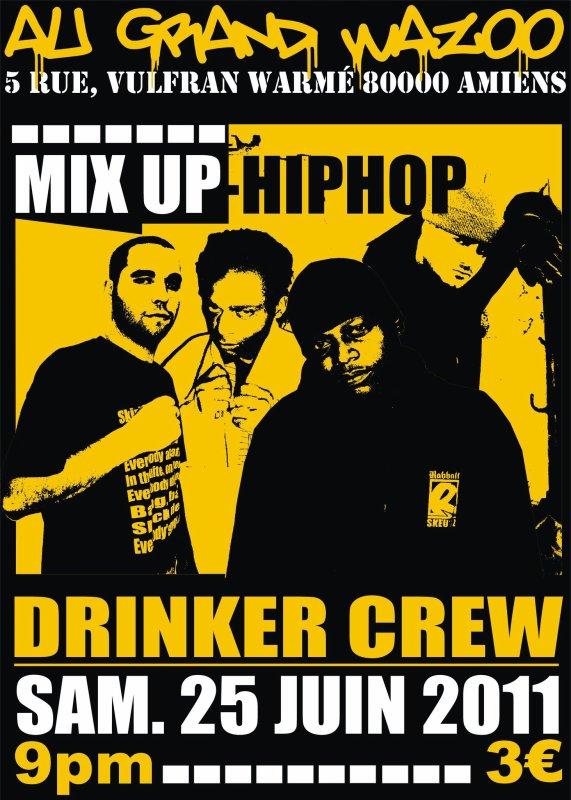 Drinker Crew en concert