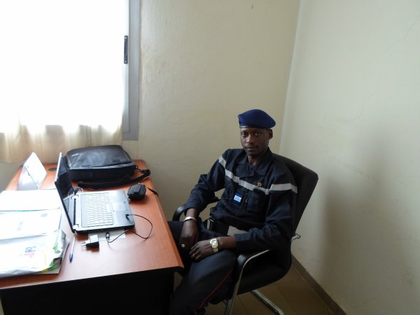 Capitaine Ousmane Samake; DIRECTION GENERALE DE LA PRTOTECTION CIVILE; BUREAU PREVENTION.