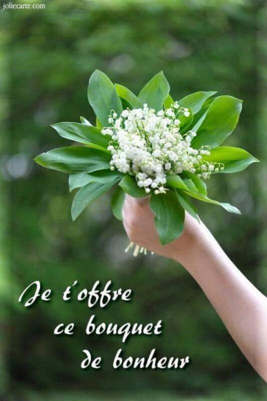 Bonne et heureuse fête du 1 er Mai à toutes et tous