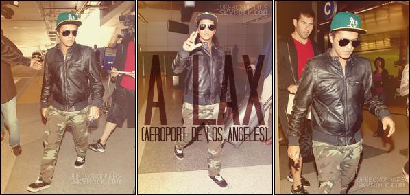 30/05/13 - Bruno a performé au Germany Next Top Model ― 31/05/13 - Bruno Mars arrive à LAX
