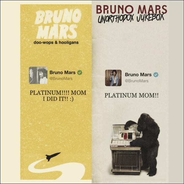 03/06/13 - Bruno Mars en deuil, sa mère est morte.