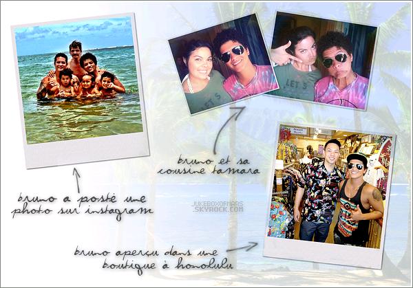 11/06/13 - Bruno retourne se ressourcer dans son île natale, Hawaii.