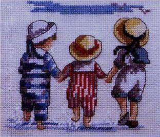 Enfants a la mer