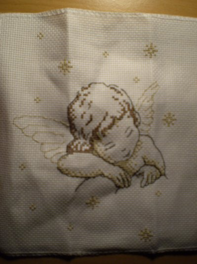 un ange points de croix