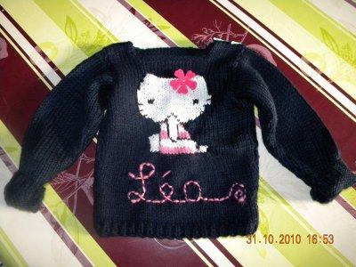 Pull Hello Kitty pour Léa
