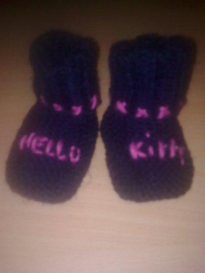 Les chausson Hello kitty pour Léa