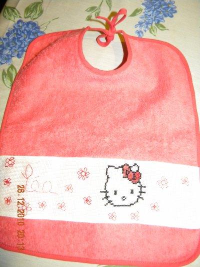 bavoir Hello Kitty