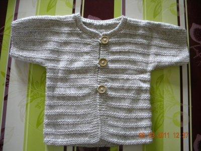 tricot Bébé pour Léa