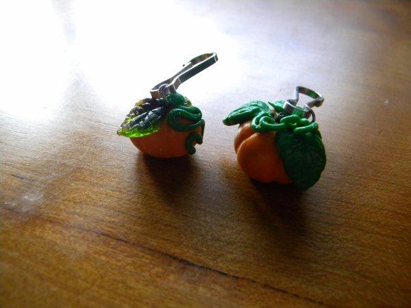 Porte clés citrouilles