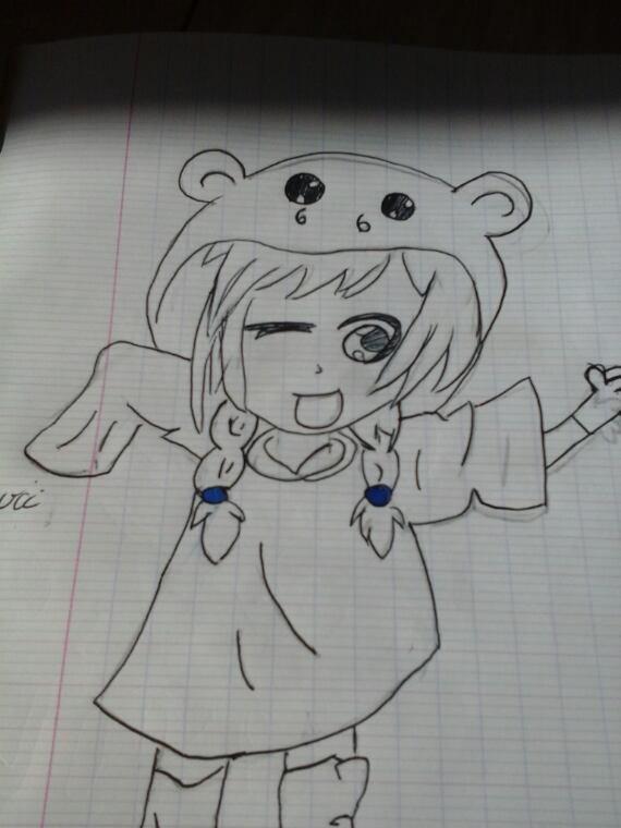 Mes dessin partie 2( fais main)