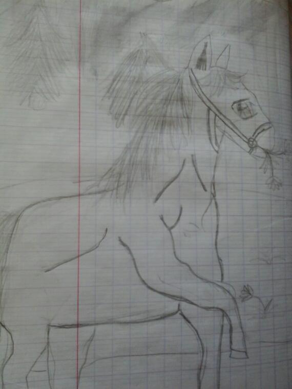 Un cheval manga