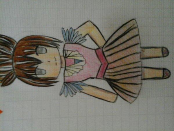 Nouveau dessin de ma cousine  ♡ o ♡