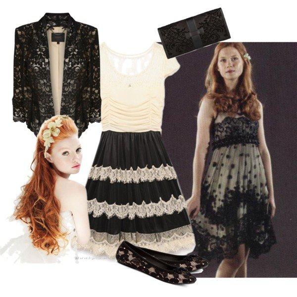 look fleur Delacour et Ginny vous preferez laquelle ?