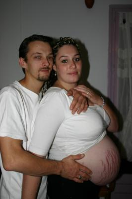 8 mois de grossesse - TOI + MOI = Début d'une vie qui s