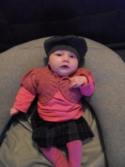 Maëllie,  un mois