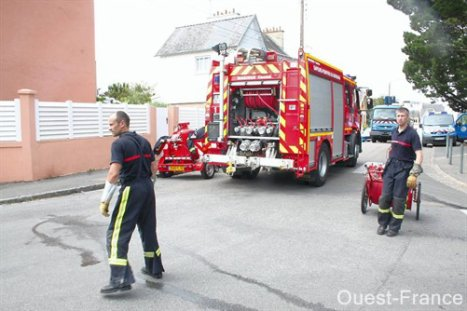 sapeurs-pompiers de lorient