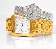 mes montre  en or