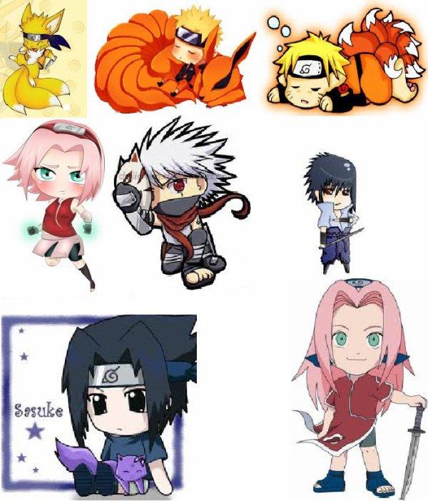 Les chibi de Naruto : lequel préférez-vous ?