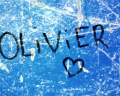 Mon petit amour. Je t'aime Olivier