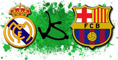 Real Mdrid VS Barcelone