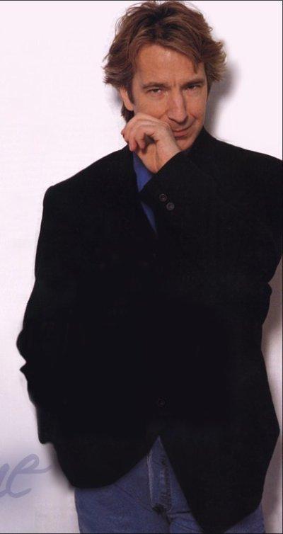 alan rickman un beaux mec