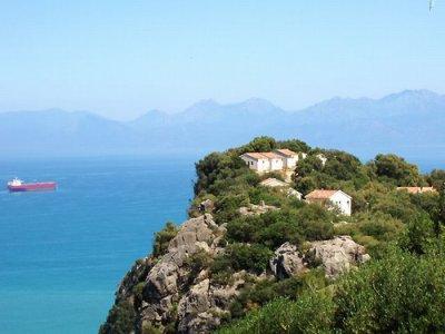 paysage de bejaia