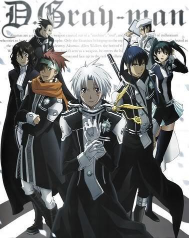 quelque personnages du mangas d grey man