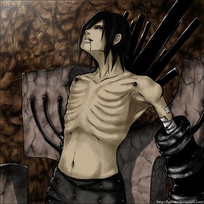 Bien que squelettique, sa puissance est sans égale. : Nagato Uzumaki.